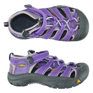 Keen Newport H2 River Water Sandal Girls Sz 12 EUC